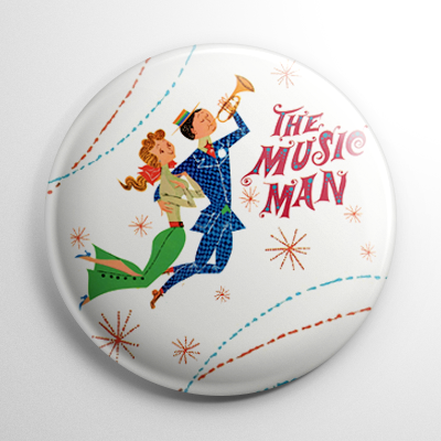 Music Man Button