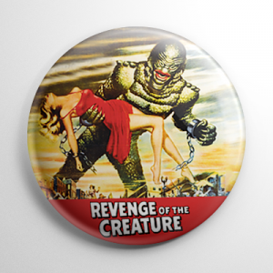 Revenge of the Creature Button