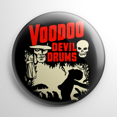 Voodoo Devil Drums Button