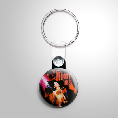 Horror - Case of the Bloody Iris Keychain