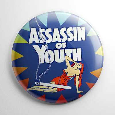 Assassin of Youth Button