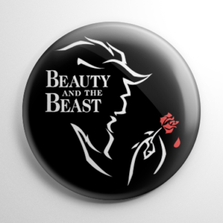 Beauty and the Beast (A) Button