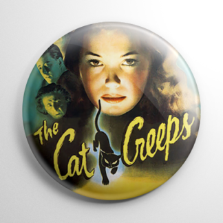 The Cat Creeps Button