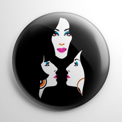 The Cher Show (B) Button