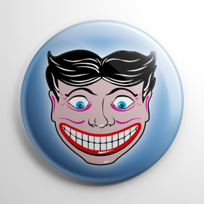 Coney Island Funny Face Button