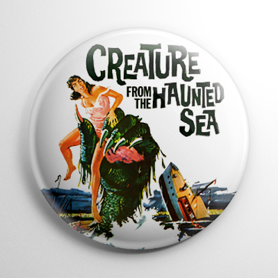 Creature from the Haunted Sea Button