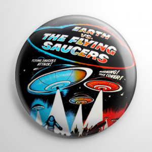 Earth vs. the Flying Saucers Button
