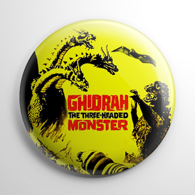 Ghidorah the Three Headed Monster Button