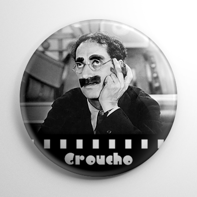 Groucho Marx Button