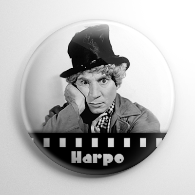 Harpo Marx Button
