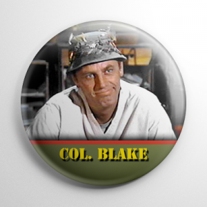 MASH 4077 Colonel Blake Button
