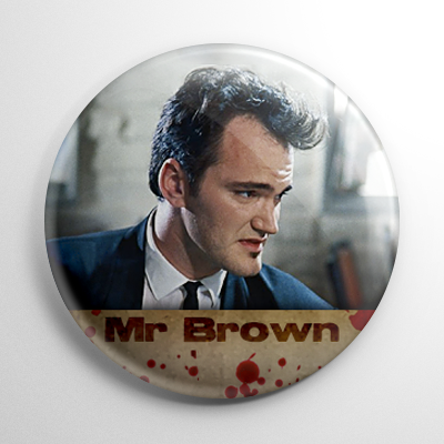 Reservoir Dogs Mr. Brown Button
