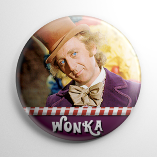 Willy Wonka (A) Button