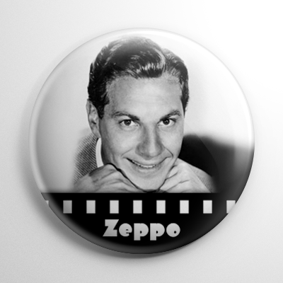 Zeppo Marx Button