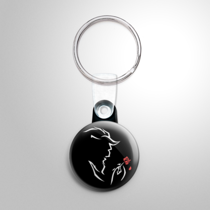 Broadway - Beauty and the Beast (B) Keychain
