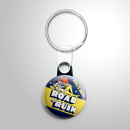 Grindhouse - Road to Ruin Keychain