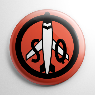 Fan Club - Captain Midnight Secret Squadron Button
