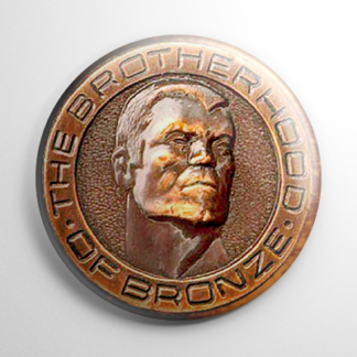Fan Club - Doc Savage Brotherhood of Bronze (B) Button