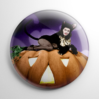Halloween Pin Up - Yvonne de Carlo Color Button