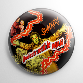 Indestructible Man Button