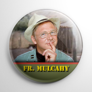 MASH 4077 Father Mulcahy Button