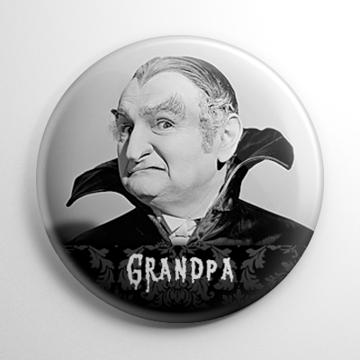 The Munsters – Grandpa Munster (A) Button