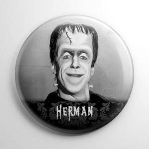 The Munsters - Herman Munster (A) Button