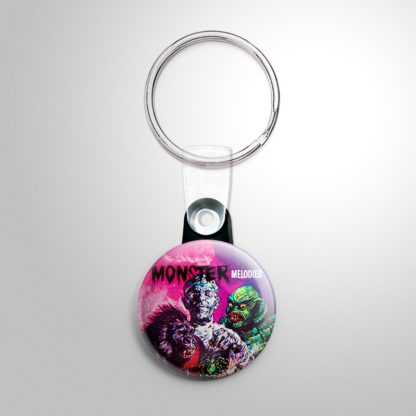 Halloween Record - Monster Melodies Keychain