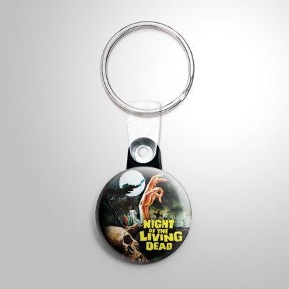 Horror - Night of the Living Dead (D) Keychain