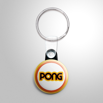 Video Games - Pong Keychain