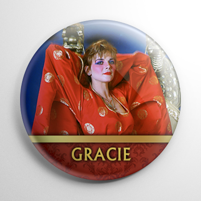 Big Trouble in Little China - Gracie Law (A) Button