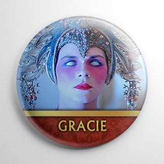 Big Trouble in Little China - Gracie Law (B) Button