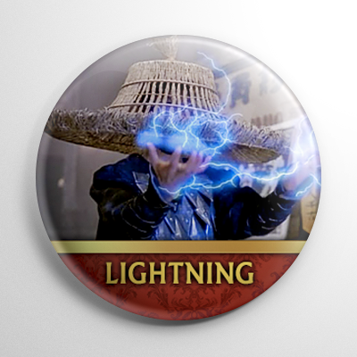 Big Trouble in Little China - Lightning (A) Button