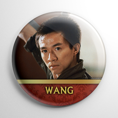 Big Trouble in Little China - Wang Chi (A) Button