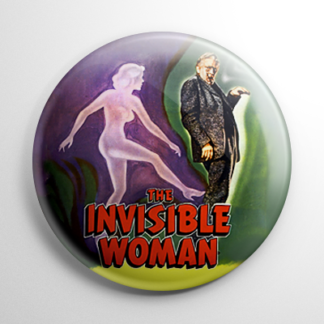 Horror - Invisible Woman Button