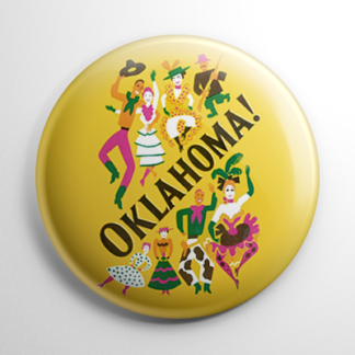 Broadway - Oklahoma Button