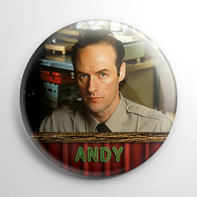 Twin Peaks Andy Button