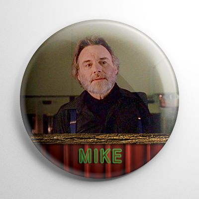 Twin Peaks Mike One Armed Man Button