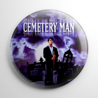Horror - Cemetery Man Button