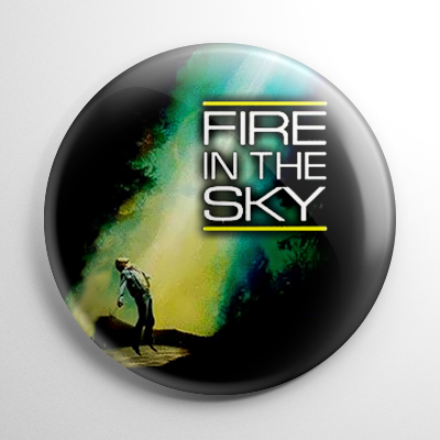 Science Fiction - Fire in the Sky Button