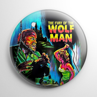 Horror - Fury of the Wolfman Button