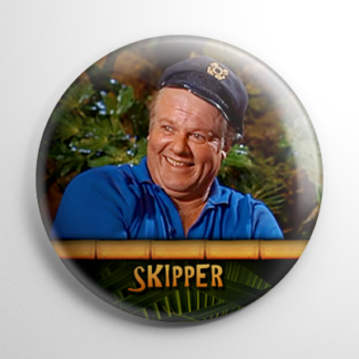 TV Show - Gilligan's Island: Skipper Button