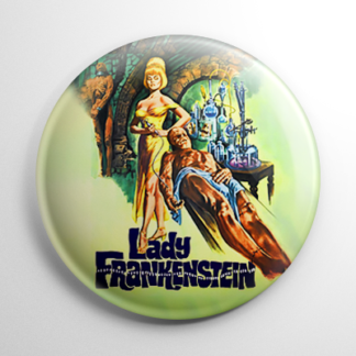 Horror - Lady Frankenstein Button