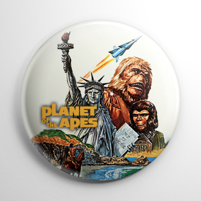 Science Fiction - Planet of the Apes (B) Button