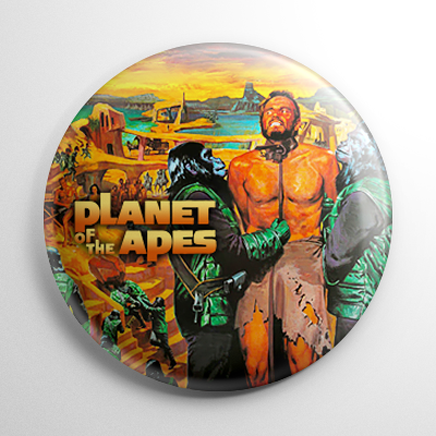 Science Fiction - Planet of the Apes (A) Button