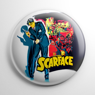 Gangster - Scarface 1932 Button