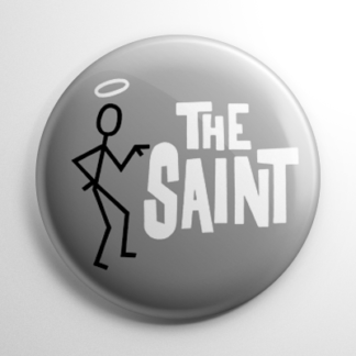 TV Show - The Saint (A) Button