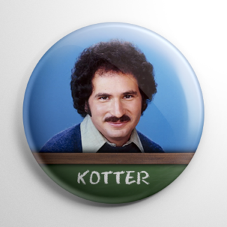 TV Show - Welcome Back, Kotter: Gabe Kotter Button