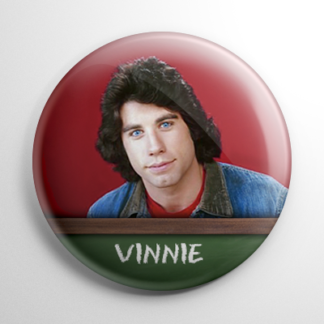 TV Show - Welcome Back, Kotter: Vinnie Barbarino Button