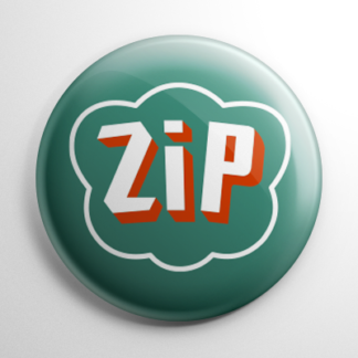 Vintage Bottle Cap - Zip Cola Button